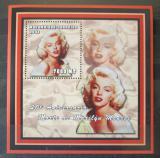 Poštovní známka Mosambik 2002 Marilyn Monroe Mi# 2427 Block