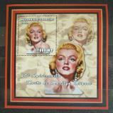 Poštovní známka Mosambik 2002 Marilyn Monroe Mi# 2428 Block