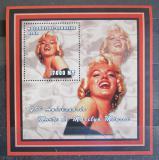 Poštovní známka Mosambik 2002 Marilyn Monroe Mi# 2429 Block