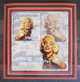 Poštovní známka Mosambik 2002 Marilyn Monroe Mi# 2430 Block