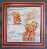 Poštovní známka Mosambik 2002 Marilyn Monroe Mi# 2431 Block