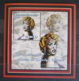 Poštovní známka Mosambik 2002 Marilyn Monroe Mi# 2432 Block
