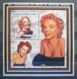 Poštovní známka Mosambik 2002 Marilyn Monroe Mi# Block 147 Kat 14€