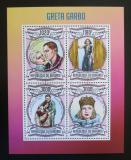 Poštovní známky Burundi 2013 Greta Garbo Mi# 3038-41 Kat 9.90€