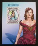 Poštovní známka Burundi 2013 Greta Garbo Mi# Block 332 Kat 9€