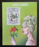 Poštovní známka Burundi 2013 Brigitte Bardot Mi# Block 326 Kat 9€