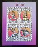 Poštovní známky Burundi 2013 Jane Fonda Mi# 3073-76 Kat 10€