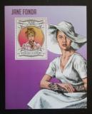 Poštovní známka Burundi 2013 Jane Fonda Mi# Block 339 Kat 9€