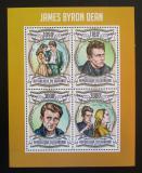 Poštovní známky Burundi 2013 James Byron Dean Mi# 3068-71 Kat 10€