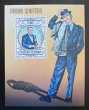 Poštovní známka Burundi 2013 Frank Sinatra Mi# Block 321 Kat 9€