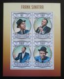 Poštovní známky Burundi 2013 Frank Sinatra Mi# 2983-86 Kat 8.90€