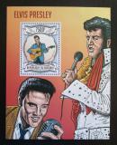 Poštovní známka Burundi 2013 Elvis Presley Mi# Block 345 Kat 9€