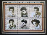 Poštovní známky Mosambik 2002 Elvis Presley Mi# 2414-19 Kat 11€