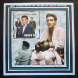 Poštovní známka Mosambik 2002 Elvis Presley Mi# Block 145 Kat 14€