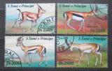 Poštovní známky Svatý Tomáš 2013 Gazely Mi# 5116-19 Kat 10€