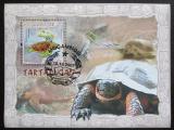 Poštovní známky Mosambik 2007 Mořské želvy Mi# Block 220 Kat 10€