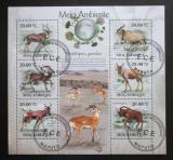 Poštovní známky Mosambik 2010 Antilopy a gazely Mi# 3554-59