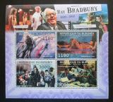 Poštovní známky Burundi 2012 Ray Bradbury, spisovatel Mi# 2670-73 Kat 10€