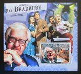 Poštovní známka Burundi 2012 Ray Bradbury, spisovatel Mi# Block 258 Kat 9€