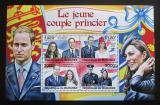 Poštovní známky Burundi 2011 Princ William a Kate Mi# 2282-85 Kat 9.50€