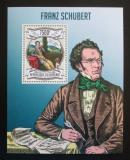 Poštovní známka Burundi 2013 Franz Schubert, skladatel Mi# Block 329 Kat 9€