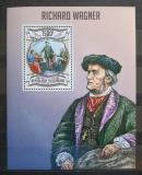 Poštovní známka Burundi 2013 Richard Wagner, skladatel Mi# Block 330 Kat 9€