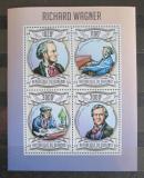 Poštovní známky Burundi 2013 Richard Wagner, skladatel Mi# 3028-31 Kat 9.90€