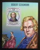 Poštovní známka Burundi 2013 Robert Schumann, skladatel Mi# Block 323 Kat 9€