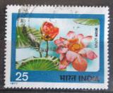 Poštovní známka Indie 1977 Lotos Mi# 722