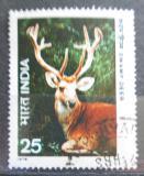 Poštovní známka Indie 1976 Jelen Mi# 691