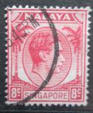 Poštovní známka Singapur 1948 Král Jiří VI. Mi# 7 A