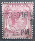 Poštovní známka Singapur 1948 Král Jiří VI. Mi# 9 A