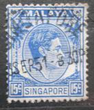 Poštovní známka Singapur 1948 Král Jiří VI. Mi# 11 A