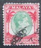 Poštovní známka Singapur 1948 Král Jiří VI. Mi# 19 A Kat 8€