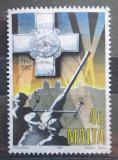 Poštovní známka Malta 1992 Královské dělostřelectvo Mi# 887