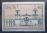 Poštovní známka Malta 1992 Katedrála, Valletta Mi# 894