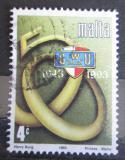 Poštovní známka Malta 1993 Odborový svaz, 50. výročí Mi# 916
