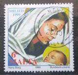 Poštovní známka Malta 1999 Vánoce Mi# 1105