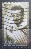 Poštovní známka Malta 2002 Oreste Kirkop, operní pěvec Mi# 1244