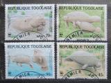Poštovní známky Togo 1984 Kapustňák, WWF 017 Mi# 1763-66