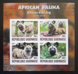 Poštovní známky Gabon 2017 Pes hyenovitý neperf. Mi# N/N