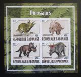 Poštovní známky Gabon 2017 Dinosauři neperf. Mi# N/N
