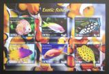 Poštovní známky Eritrea 2017 Exotické ryby neperf. Mi# N/N