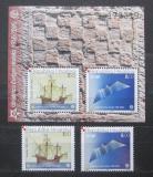 Poštovní známky Chorvatsko 2005 Evropa CEPT Mi# 734-35,Block 27 Kat 40€