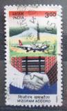 Poštovní známka Indie 1999 Dohoda Mizoram, 10. výročí Mi# 1687