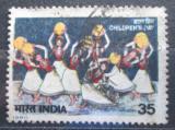 Poštovní známka Indie 1980 Tancující děti Mi# 846