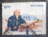 Poštovní známka Indie 1993 William Carey Mi# 1380