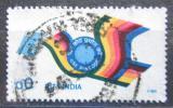 Poštovní známka Indie 1989 Pták s dopisem Mi# 1235