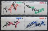 Poštovní známky Singapur 1970 Sport TOP SET Mi# 122-25 Kat 17€