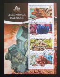 Poštovní známky Togo 2015 Minerály Mi# 6519-22 Kat 12€